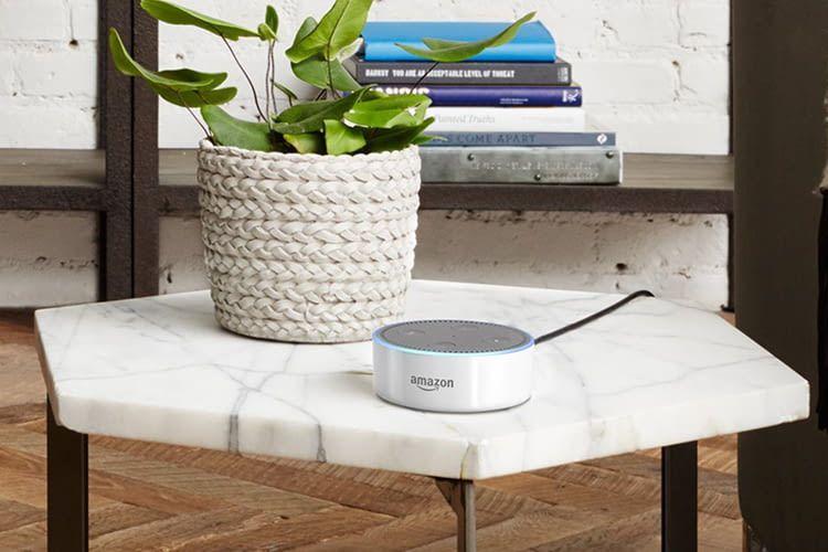 Auch Echo Dot kann Alexa Sprachbefehle zuverlässig verarbeiten und beantworten