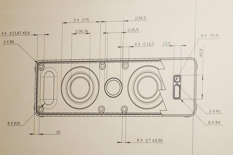 So sehen die ersten von IKEA veröffentlichten Produktpläne zu SYMFONISK aus