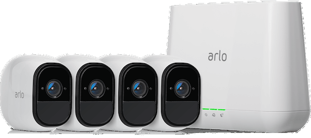 Arlo Pro Smart Security System mit 4 Kameras