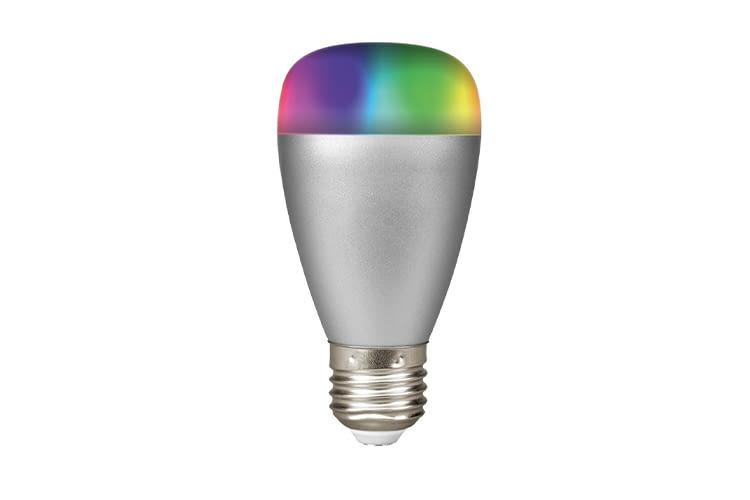 Die RGB-Leuchte fürs Smart Home von MEDION ist dimmbar und kann in allen Farben leuchten