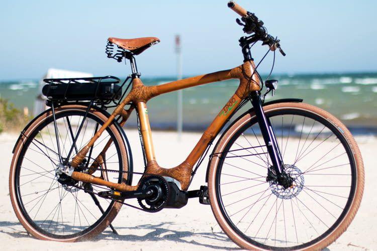 Bambus hat sich als extrem leichtes und dennoch stabiles Material herausgestellt