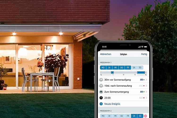 Für Eve Light Switch lassen sich auch persönliche Zeitpläne per App bestimmen