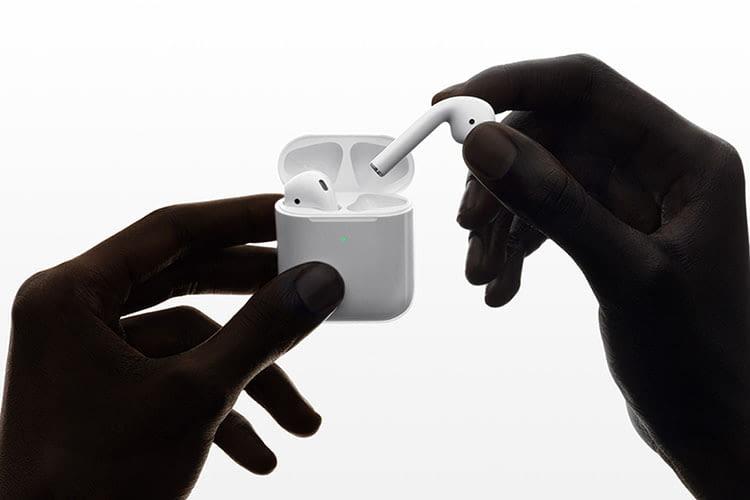 Apple AirPods 2 bieten eine Stunde Sprechdauer mehr als das Vorgängermodell