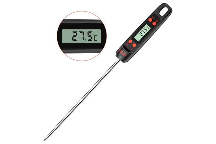 Das Habor Grillthermometer ist ein einfaches und unkompliziertes Basisgerät