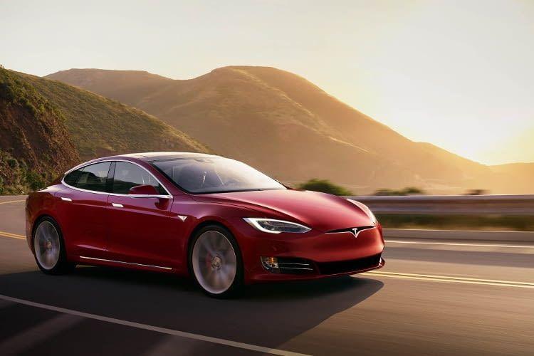Die absolute Nummer 1: Das Model S von Tesla - mit einer unschlagbaren Reichweite von 539 km
