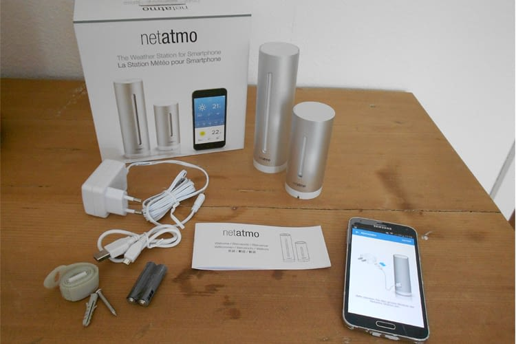Testpaket: Die Netatmo Wetterstation samt App