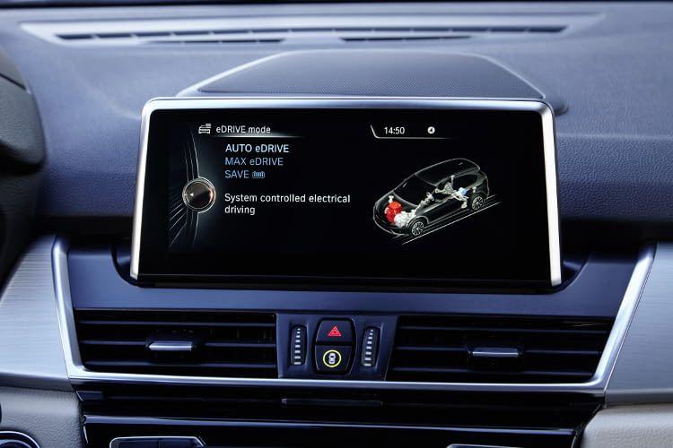 Die eDrive-Technologie des BMW 225xe Active Tourer ermöglicht - laut Hersteller - eine elektrische Reichweite von 41 Kilometern