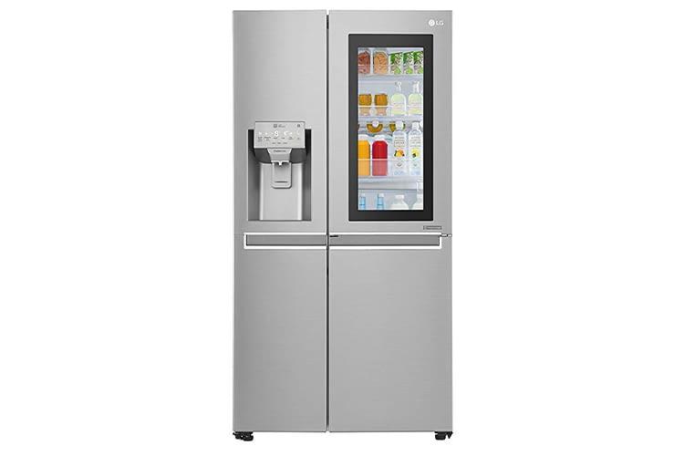 Mit dem Kühlschrank GSX 961 NEAZ liegt Hersteller LG im Trend der smarten Haushaltstechnologie