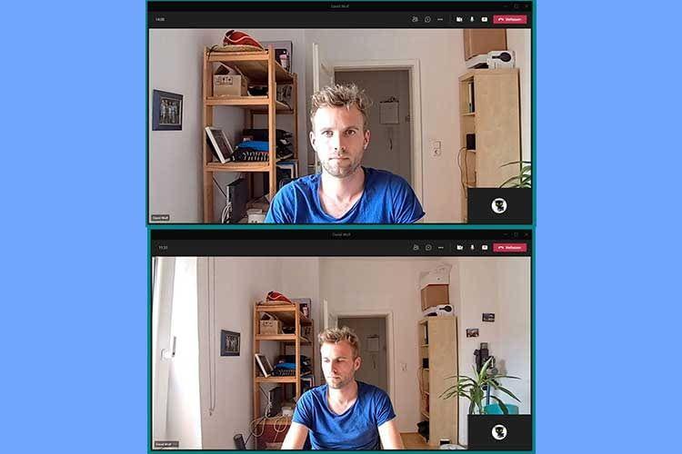 Anker setzt auf Weitwinkel mit breitem Bildausschnitt. Damit eignet sich die Cam auch gut für Meeting-Räume