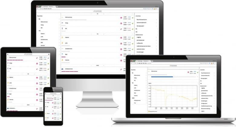 Die Benutzeroberfläche bietet Raum für individuelle Konfiguration und ist mit den gängigen Betriebssystemen kompatibel