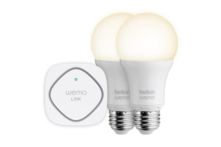 Mit Belkin Wemo Plugs lassen sich smarte Lampen sogar per Sprachbefehl steuern