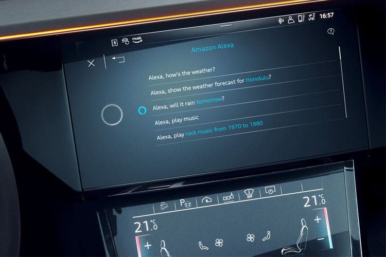Alexa erweitert den Funktionsumfang vieler Audi-Modelle