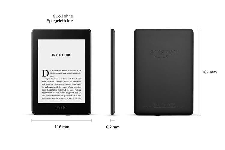 Amazon Kindle Paperwhite ist wasserdicht und eignet sich dank Bluetooth auch für Hörbücher