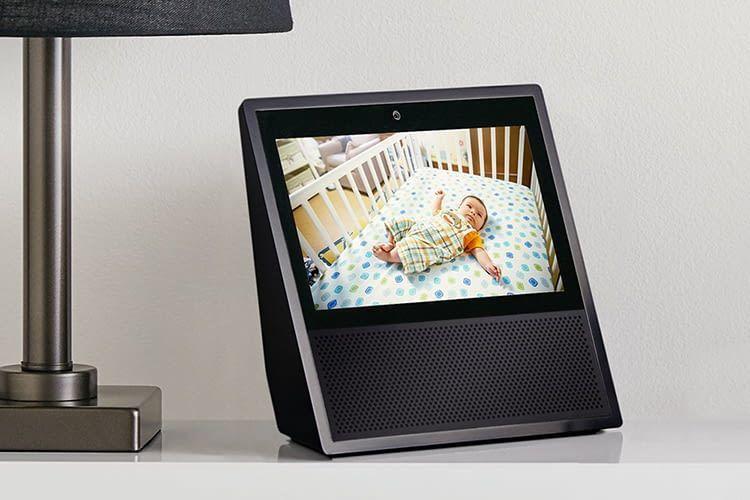 Amazon Echo Show arbeitet mit Sicherheitskameras zusammen