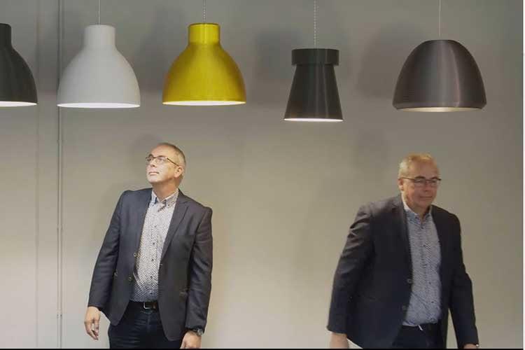 Signify Manager Coen Liedenbaum sieht im 3D-Druck eine Antwort auf ökologische Unternehmensherausforderungen