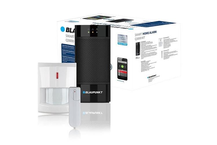 Das Blaupunkt Q3000 Alarmanlagen Starter-Kit mit Bewegungs- und Fenster-/Tür-Sensor