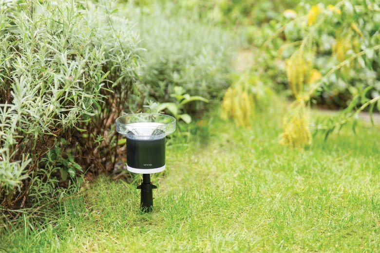 Der Netatmo Regenmesser ist die optimale Ergänzung zur Wetterstation im Smart Home