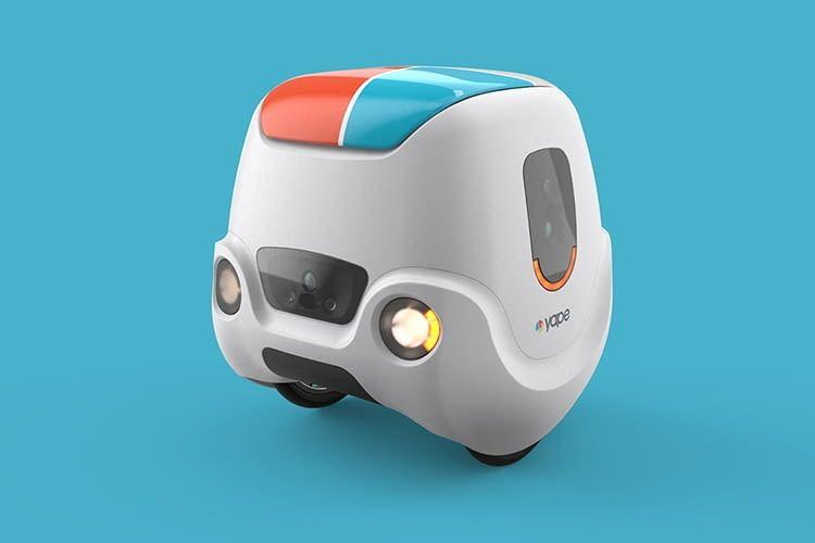 Yape gehört zu den weitentwickelten Lieferrobotern