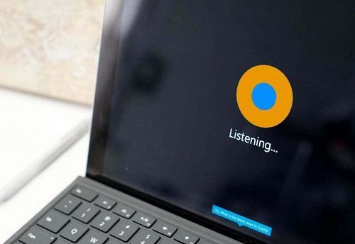 Der orangene Kreis symbolisiert Cortana family (Famtana) @ Windows Central