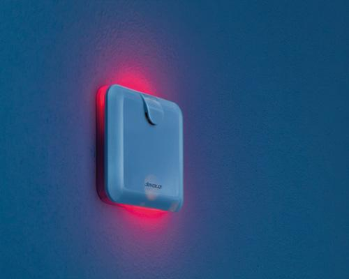devolo Home Control Alarmsirene im Dunkeln