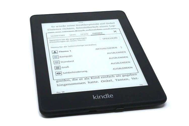 Alle Bücher immer dabei - mit dem Amazon Kindle Paperwhite 2018 kein Problem