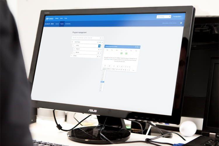 Auch die Heizungssteuerung vom Computer aus ist möglich