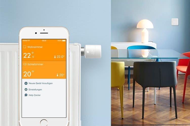 tado WLAN-Thermostate lassen sich per Sprachassistenten oder App steuern
