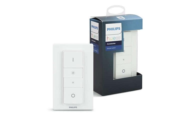 Auch der Philips Hue Dimmschalter arbeitet mit ZigBee
