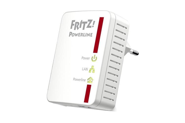 Der AVM FRITZ!Powerline 510E vernetzt FRITZ!Box, Drucker, Spielekonsole und vieles mehr