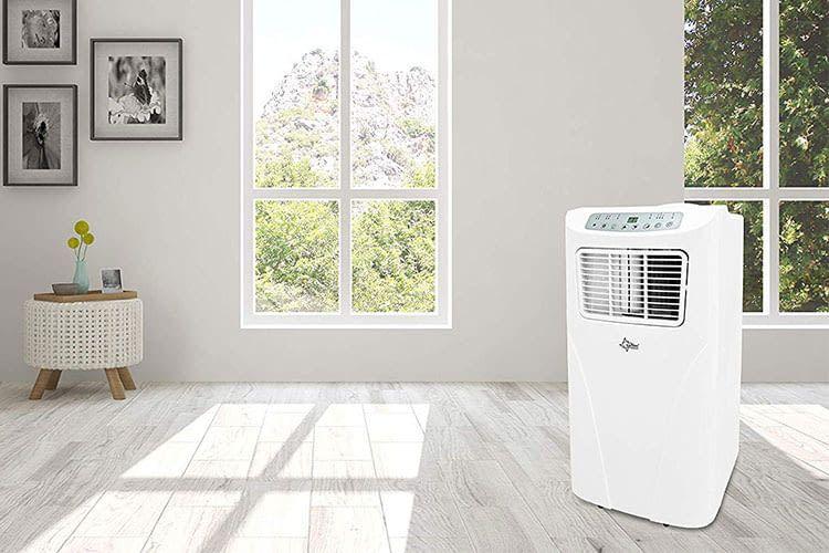 Die Suntec Wellness Impuls 2.6+ verfügt über ausreichend Leistung, um schnell Abkühlung zu verschaffen