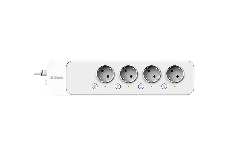Bis zu vier Geräte können mit der smarten Steckdosenleiste genutzt werden
