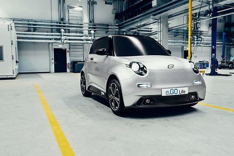 In Aachen wurde das Elektroauto e.GO Life entwickelt und auch gefertigt - in einer modernen 4.0 Fabrik.