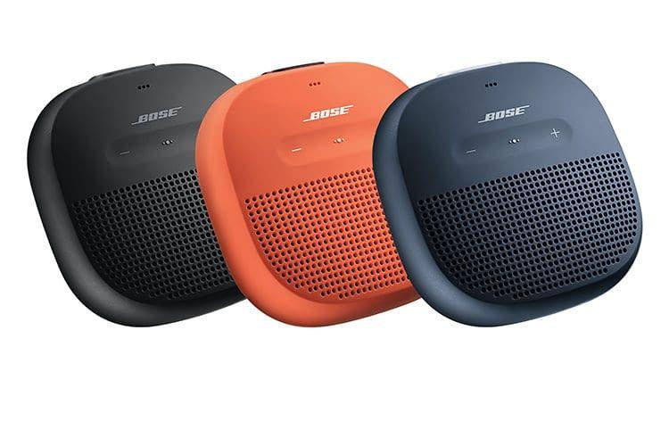 BOSEs Bluetooth-Lautsprecher SoundLink Micro sind dank Gehäusegummierung schlagfest
