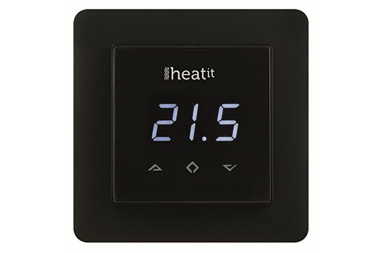 Heatit HEAE5430498-B Plus punktet durch extravagante schwarze Optik