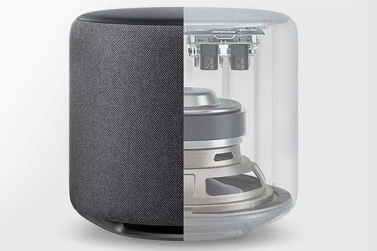 Amazon Echo Sub verfügt über einen 100 Watt Verstärker und 152 mm Subwoofer