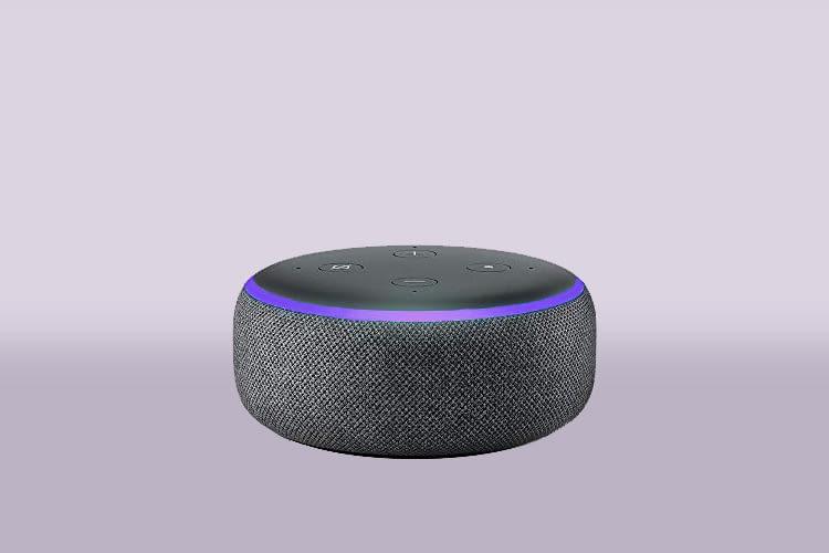 Bei Verbindungsproblemen kann es sein, dass Echo Dot ähnlich wie auf unserem Symbolbild lila aufleuchtet