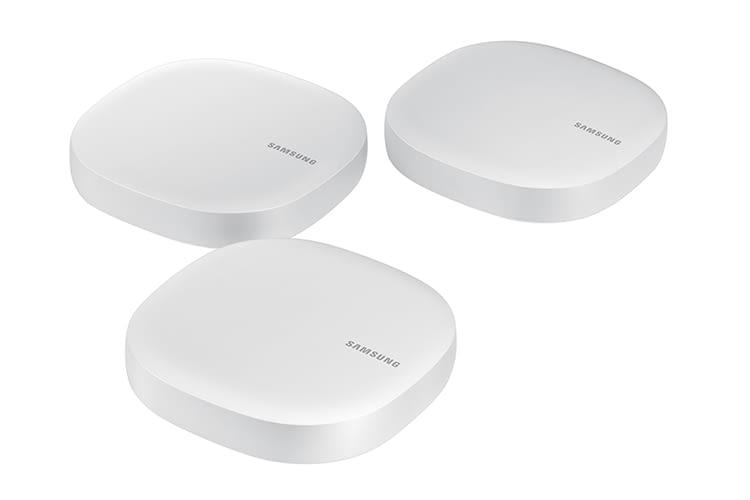 Samsung bietet seine Smart Home-Router zur Flächenabdeckung im 3er-Pack an
