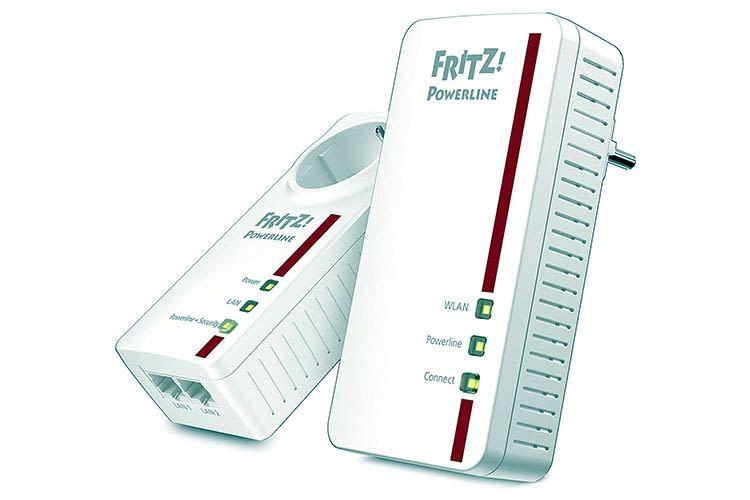 Das AVM FRITZ!Powerline 1260E/1220E Set bietet den perfekten dLAN-Einstieg im FRITZ! Universum