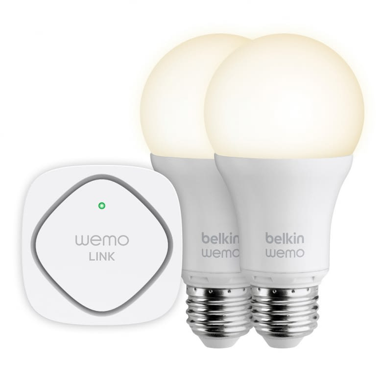 WeMo® LED Lighting Starter Set mit zwei Birnen