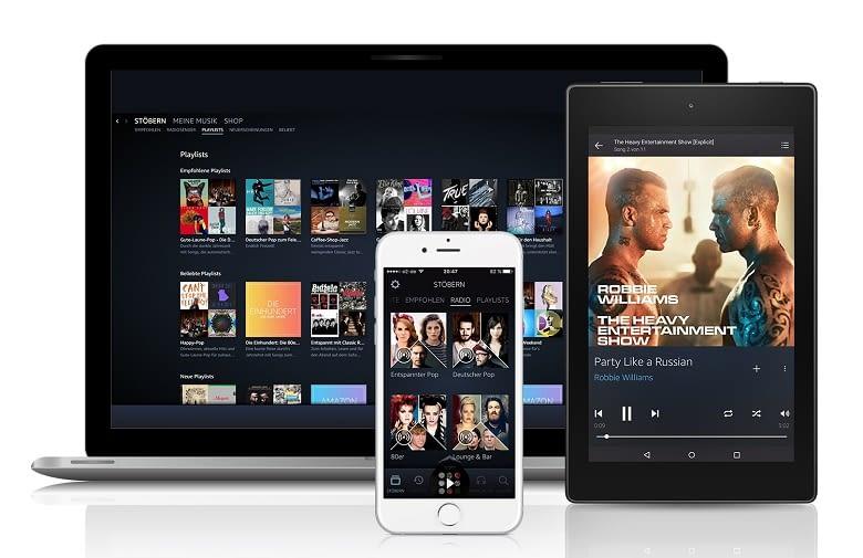 Amazon Music Unlimited bietet weitaus mehr als Prime Music