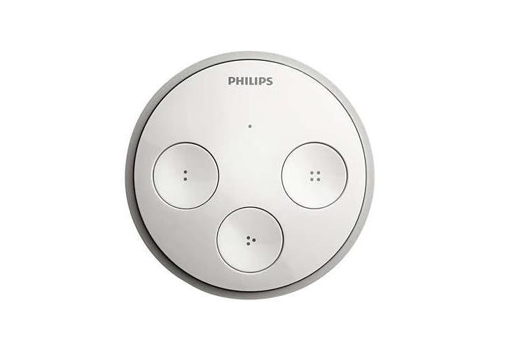 Der Philips Hue Tap Schalter von Philips benötigt keine Batterie