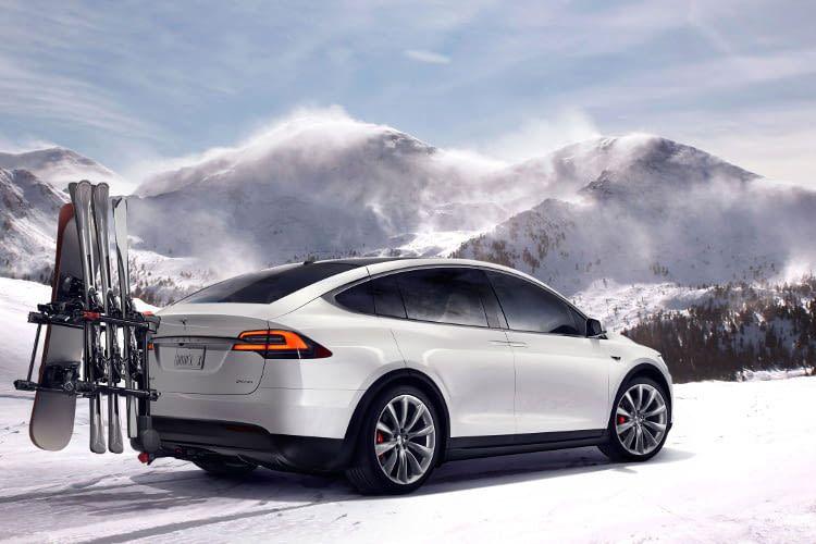 Das Model X steht als Fünf-, Sechs- oder Siebensitzer zur Auswahl