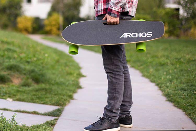 Das Elektro-Skateboard gibt es bereits