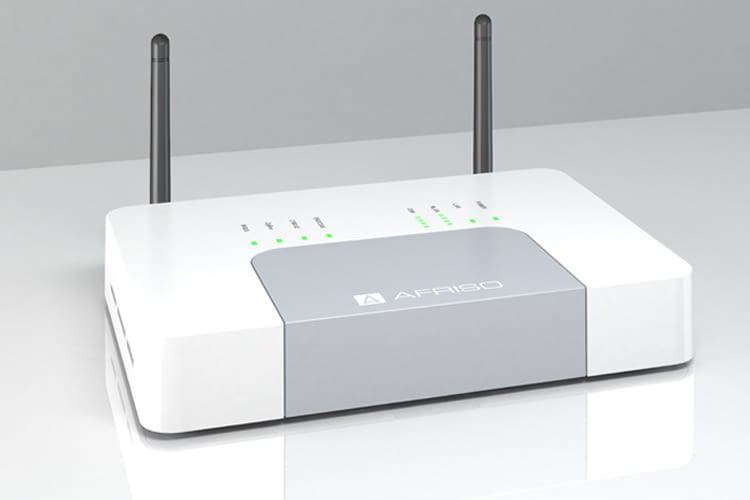 AFRISOhome Gateway HG 01 mit EnOcean, Z-Wave, ZigBee, Wireless M-Bus und WLAN