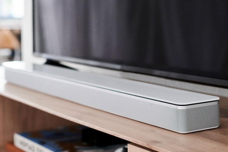 Neben den Bose Lautsprechern sind auch die Bose Soundbars Multiroom-fähig