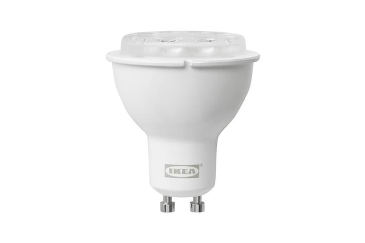 Alle IKEA TRÅDFRI GU10 LEDs sind dimmbar und mit CE-Kennzeichnung versehen