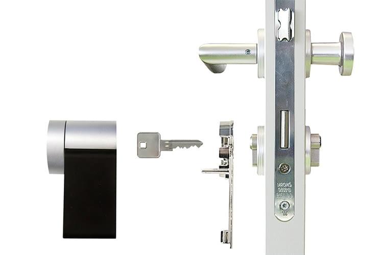 Das Nuki Smart Lock ist ohne viel Aufwand installierbar