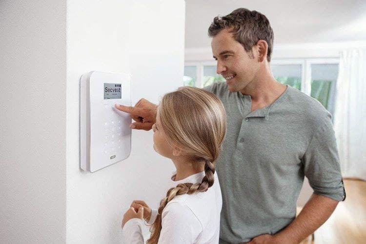 Die ABUS Secvest Funkalarmanlage sorgt für ein sicheres Zuhause