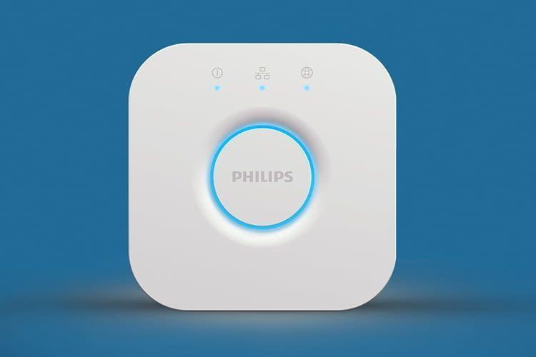 Die Philips Hue Bridge dient als Schaltzentrale für bis zu 50 Smart Home Geräte