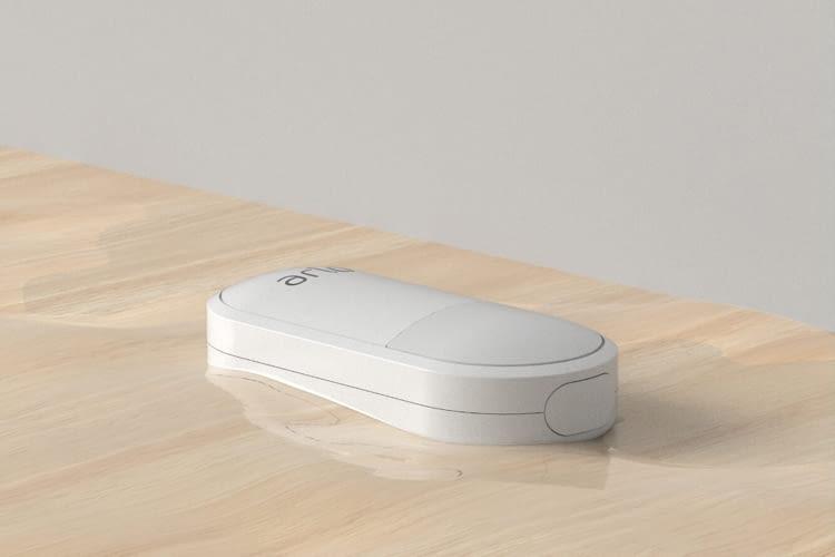 Der Arlo Sensor erkennt auch Wasserschäden durch eine defekte Waschmaschine o.ä.